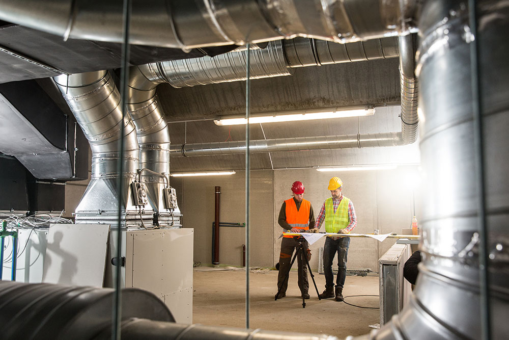 HVAC Ventilation System Servicing